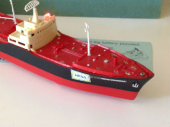 Hess Voyager toy tanker ship value