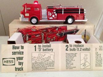 1971 hess fire truck value