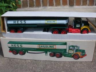 1974 hess tanker truck value