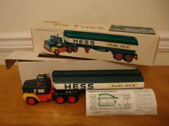 1978 hess fuel oil tanker value