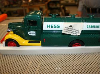 1985 Hess truck piggy bank