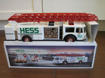 1989 Hess Toy Fire Truck Bank