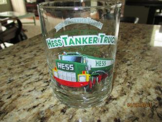 1996 Hess Tanker Truck Glass