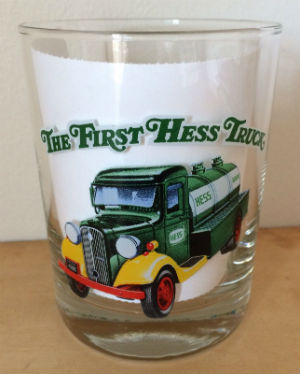 1996 The First Hess Truck Glass