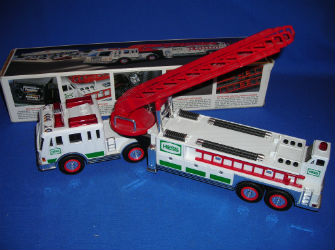 2000 Hess fire truck with red ladder value