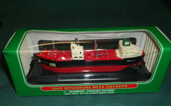 2002 Miniature Hess Voyager for sale