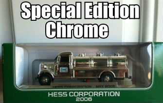2006 Hess mini chrome special edition truck