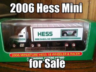 2006 Miniature Hess 18 Wheeler