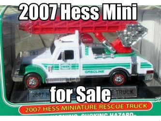 2007 Miniature Hess Rescue Truck