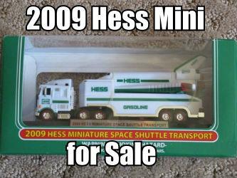 2009 Miniature Hess Space Shuttle Transport