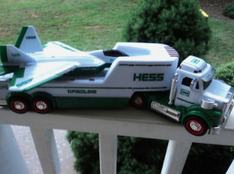 2010 Hess truck and jet plane value