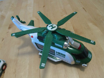 2012 Hess jet helicopter and rescue value