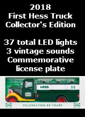 2018 First Hess Truck Collector's Edition FREE SHIPPING
