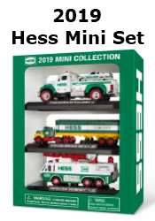 2019 Mini Hess Truck Collection Available Here