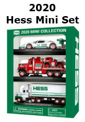 The 2020 Mini Hess Collection with FREE SHIPPING