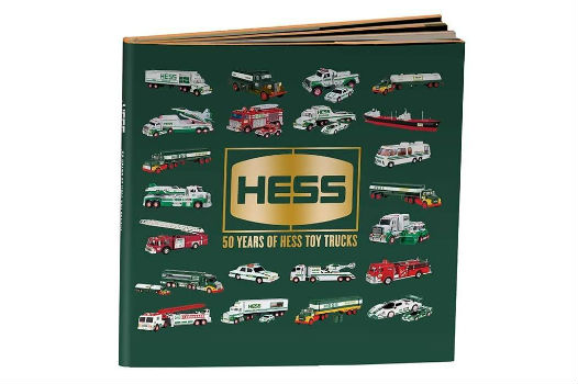 50th Anniversary Hess Toy Truck HARD COVER BOOK