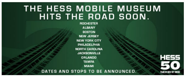 Hess Mobile Museum Hits the Road Soon