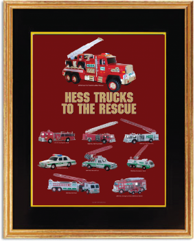 Buy Hess Trucks to the Rescue Poster 2015