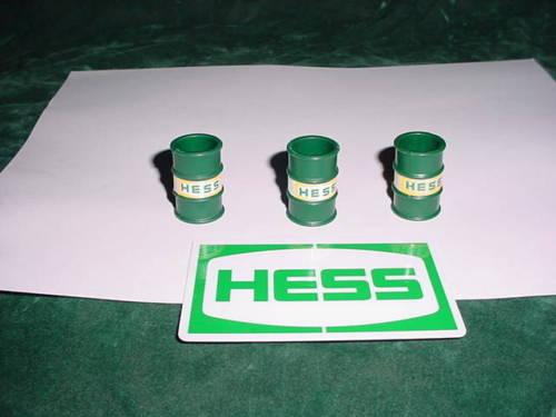 Hess truck parts 1976 Original Barrels