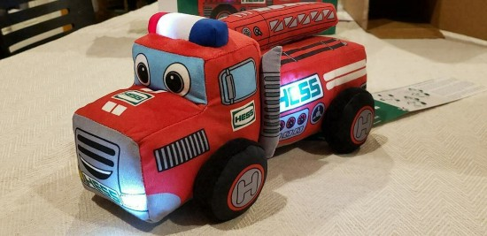 My First Hess Truck 2020 Plush Toy