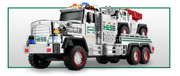 SILVER EDITION 2015 HESS TOY TRUCK