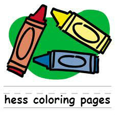 Free Hess coloring pages