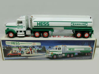 1990 Hess Tanker Truck value