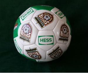 Hess soccer balls for sale