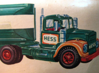 Hess toy truck facts