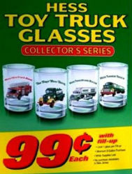 Hess Collectors Series Glasses