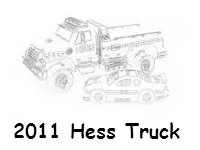2011 Hess coloring page