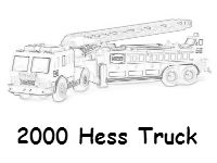 2000 Hess coloring page