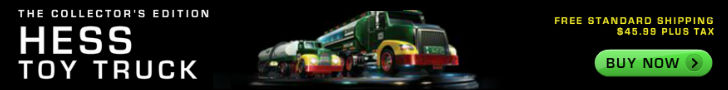 Available now the Collectors Edition HESS Toy Truck 2014